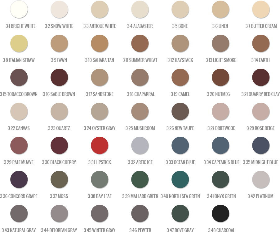 Vip Grout And Tile Concepts Custom Polyblend Color Chart