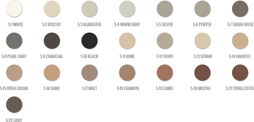 VIP Grout - Tile Concepts Mapei Color Chart