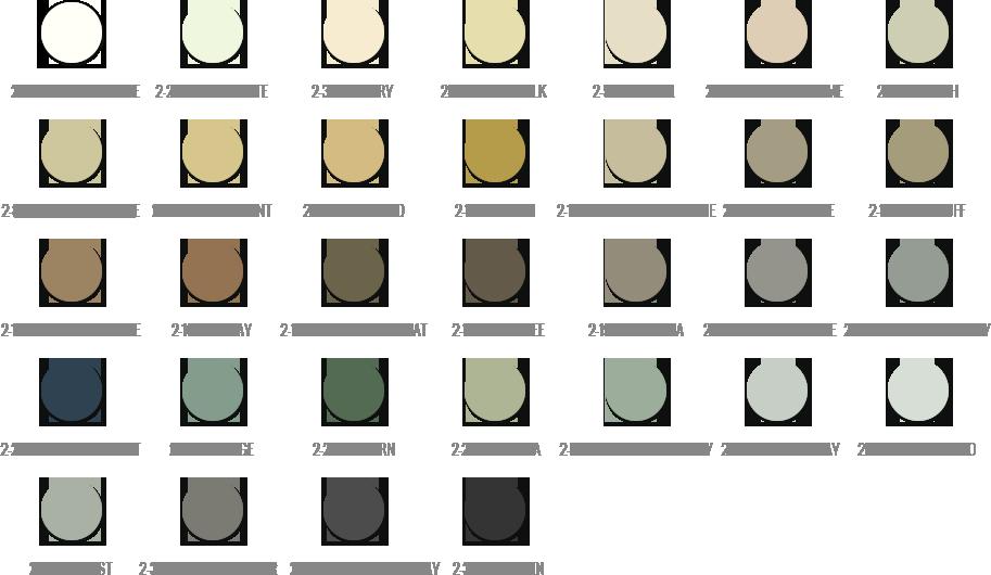 Vip Grout Tile Concepts Tec Color Chart